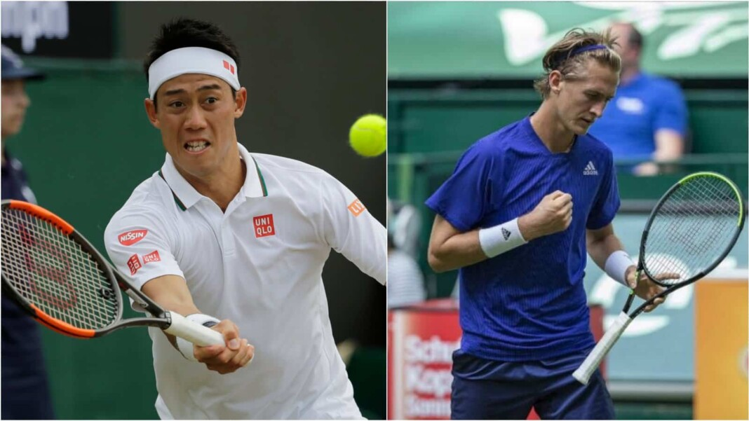 Kei Nishikori vs Sebastian Korda will meet in the 2nd round of the ATP Halle 2021