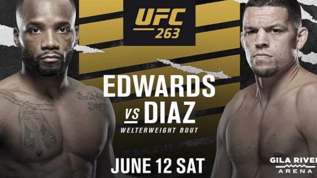 Leon Edwards vs Nate Diaz