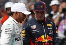 Max Verstappen on Lewis Hamilton