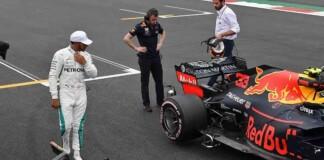 Lewis Hamilton on Red Bull