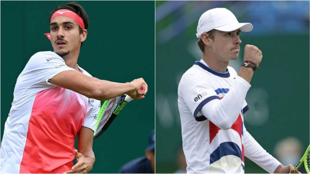 Lorenzo Sonego vs Alex de Minaur will clash in the finals of the ATP Eastbourne 2021