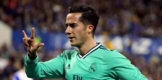 Lucas Vazquez for Real Madrid