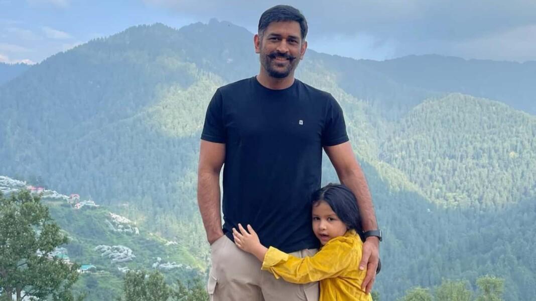 MS Dhoni in Shimla