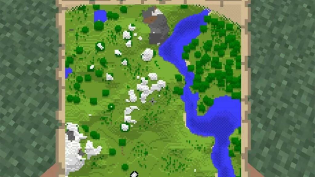 Map in Minecraft