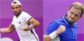 Matteo Berrettini vs Daniel Evans will clash in the quarter-finals of the Queen's Club 2021