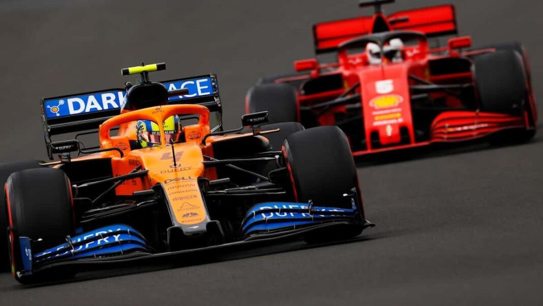 Mattia Binotto on McLaren Ferrari