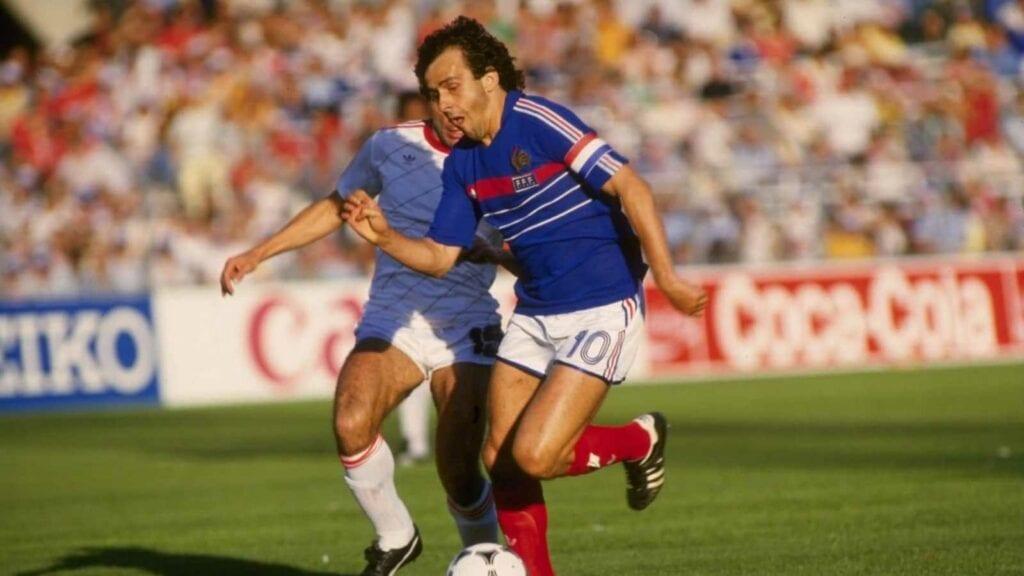 Michel Platini in France's 1984 Euro Win
