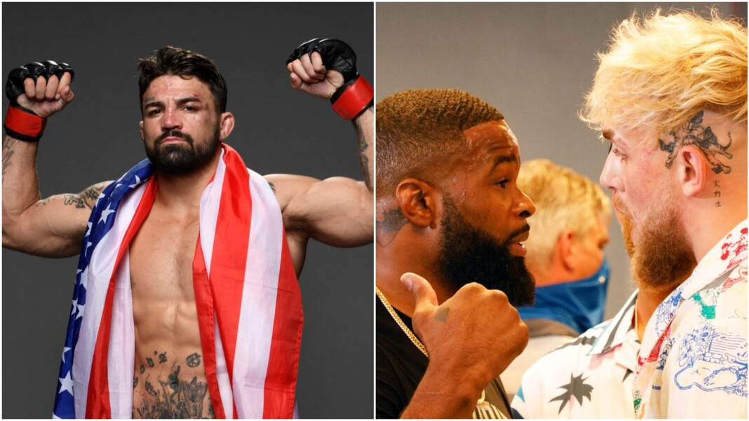 Mike Perry, Tyron Woodley vs Jake Paul