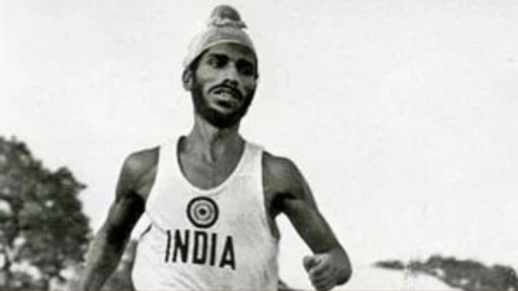 India waers black armbands in the WTC final to commemorate Milkha Singh's death