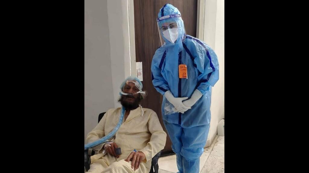 Milkha Singh in hospital
