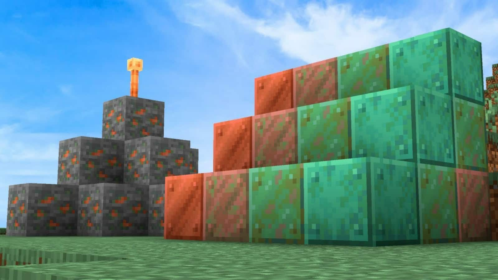 Minecraft Copper in Caves and Cliffs update: Uses, how to find, recipes and  more