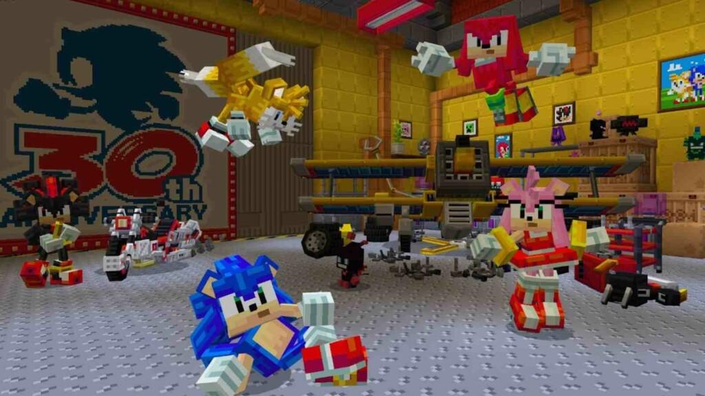 Minecraft Sonic DLC