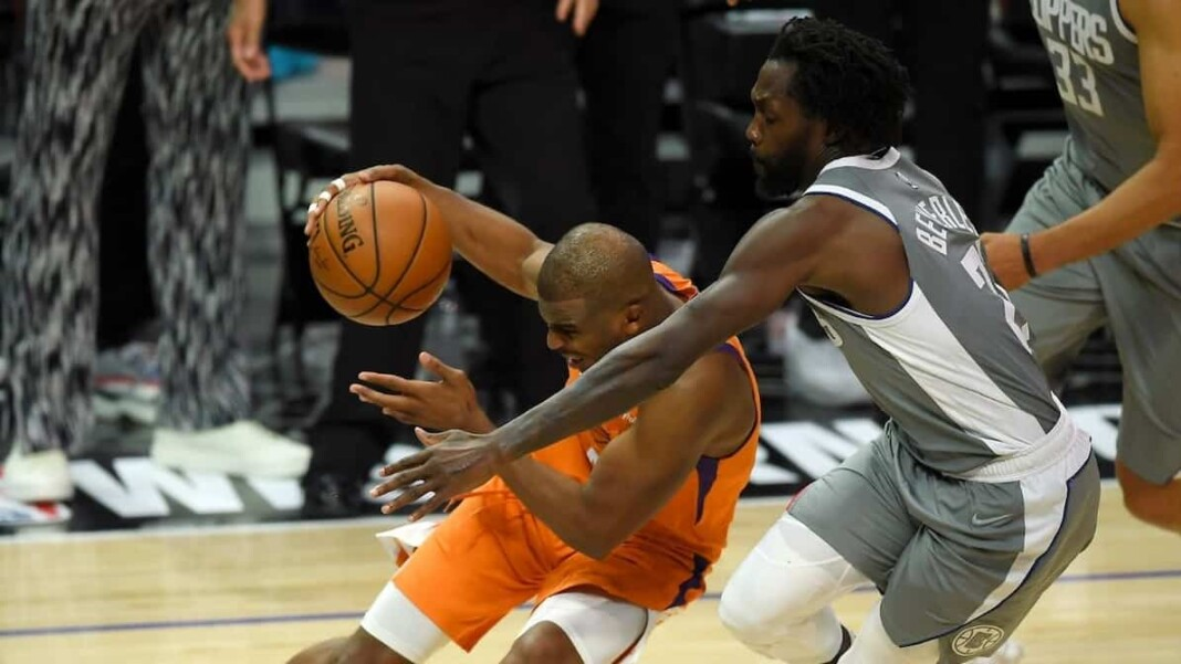 Monty Williams on Patrick Beverley Foul on Chris Paul in Game 5