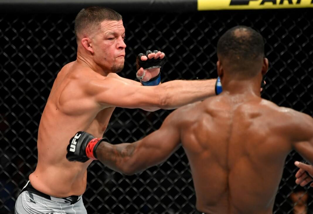 UFC 263 Nate Diaz vs Leon Edwards