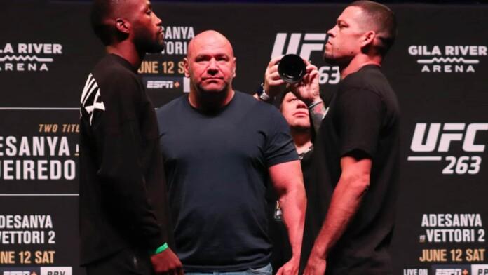 Nate Diaz vs Leon Edwards
