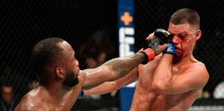 Nate Diaz vs Leon Edwards UFC 263