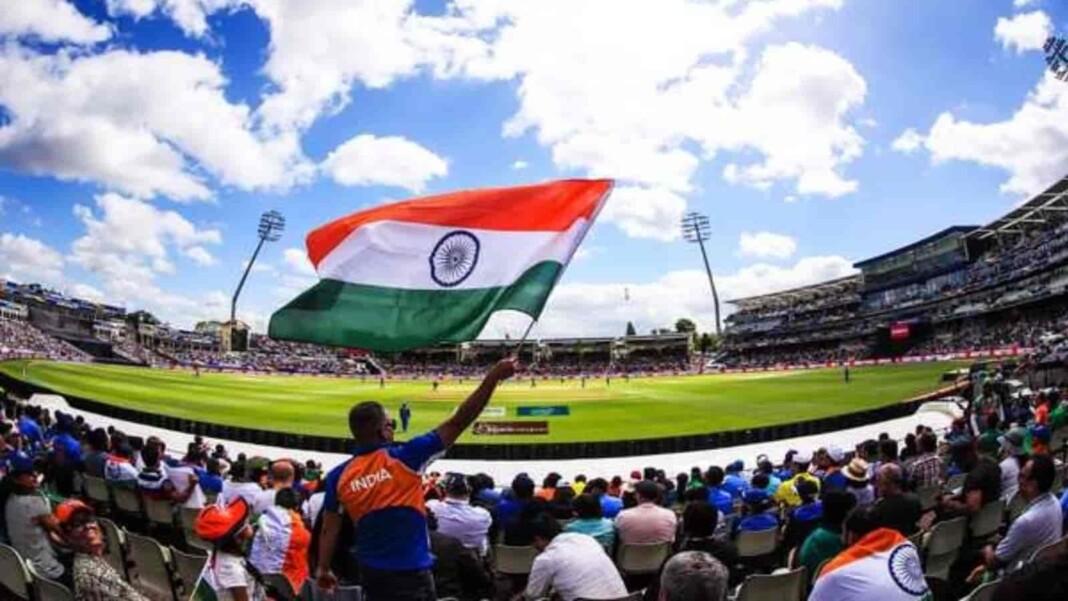 WTC Final India flag