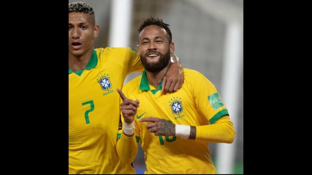 Neymar and Richarlison scored in their 2-0 win over Ecuador