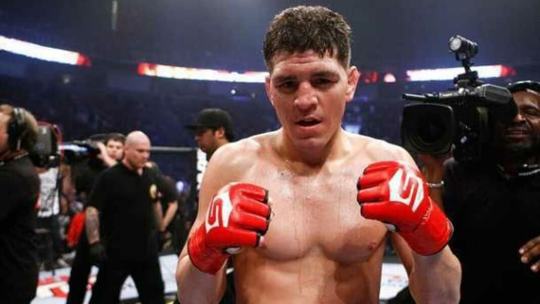 Nick Diaz boxing