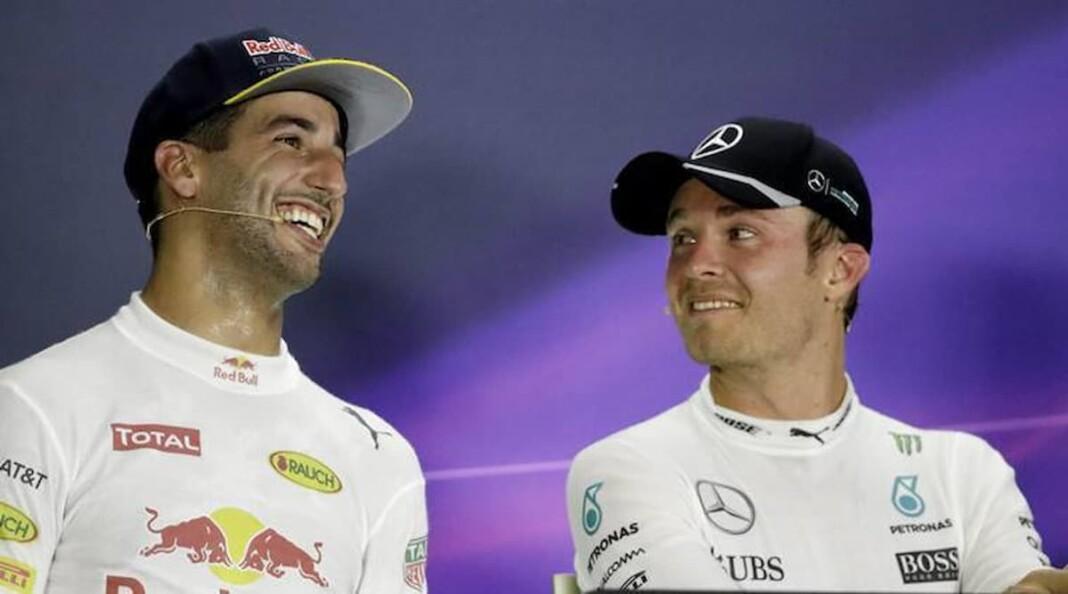 Nico Rosberg on Daniel Ricciardo