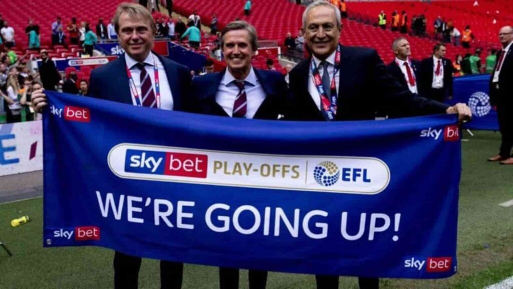 Owners of Aston Villa after they achieved promotion to the Premier League in 2019