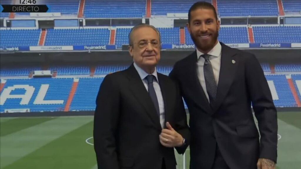 Perez and Sergio Ramos
