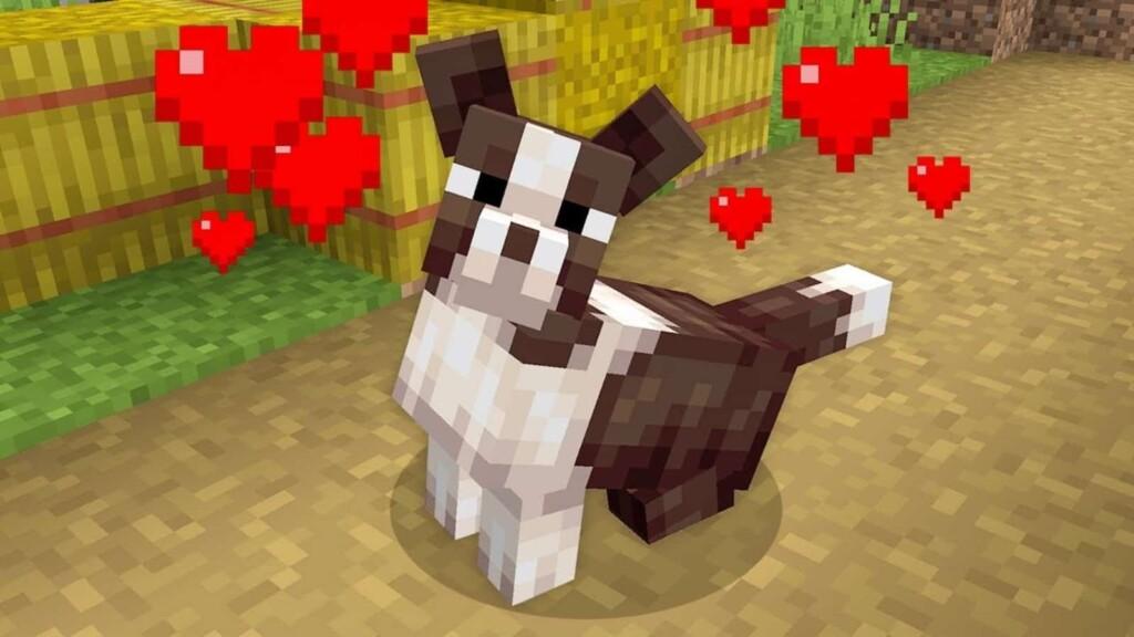 Pet Dog in Minecraft