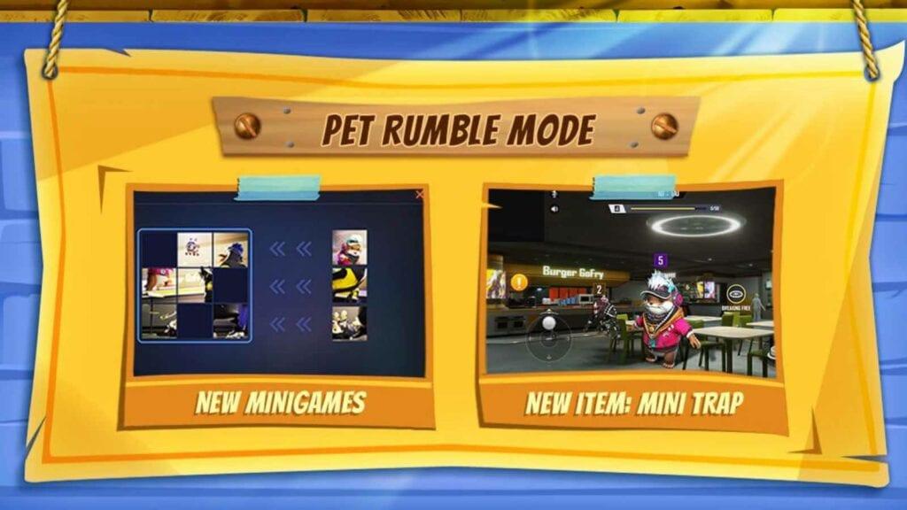 Pet Rumble ff - FirstSportz