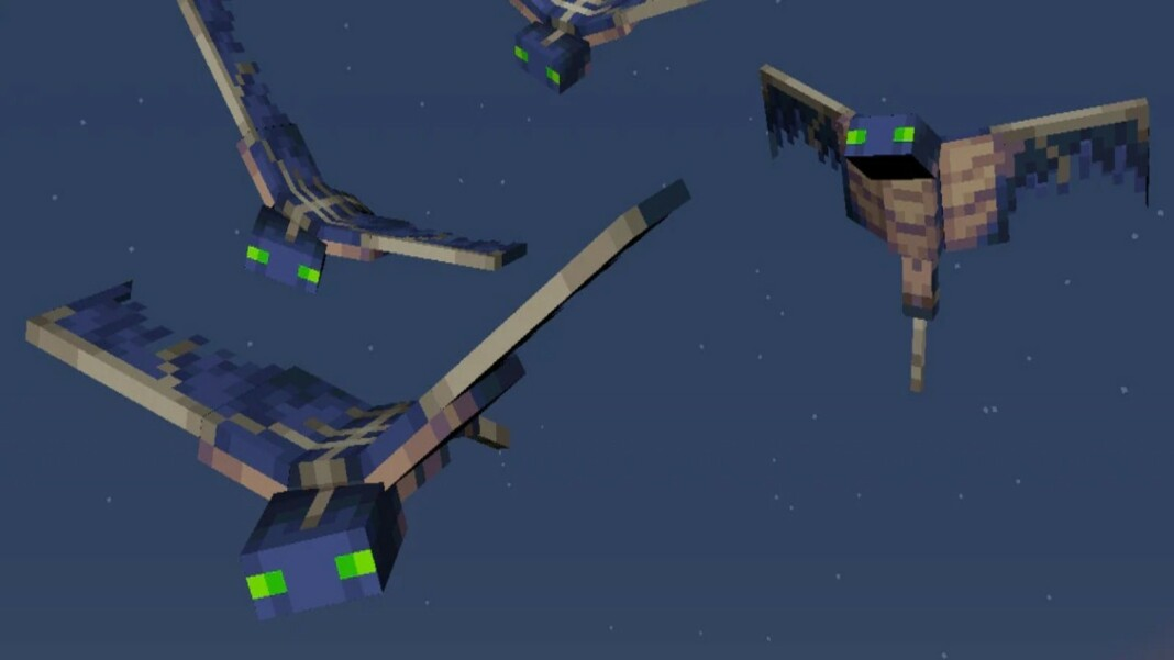 Phantoms in Minecraft