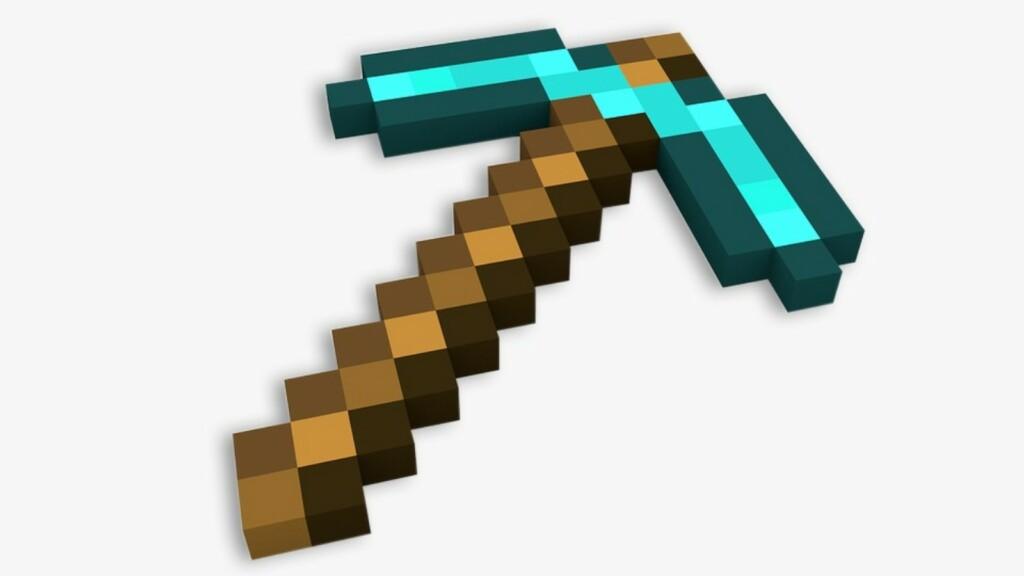 Pickaxe in Minecraft