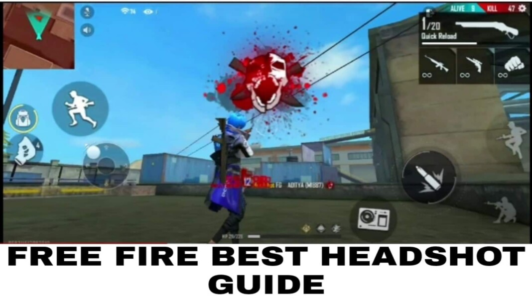 Free Fire Headshot guide