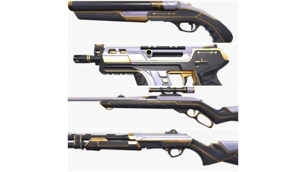 Monarch Gun Set