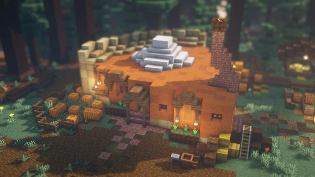 Pumpkin Pie in Minecraft