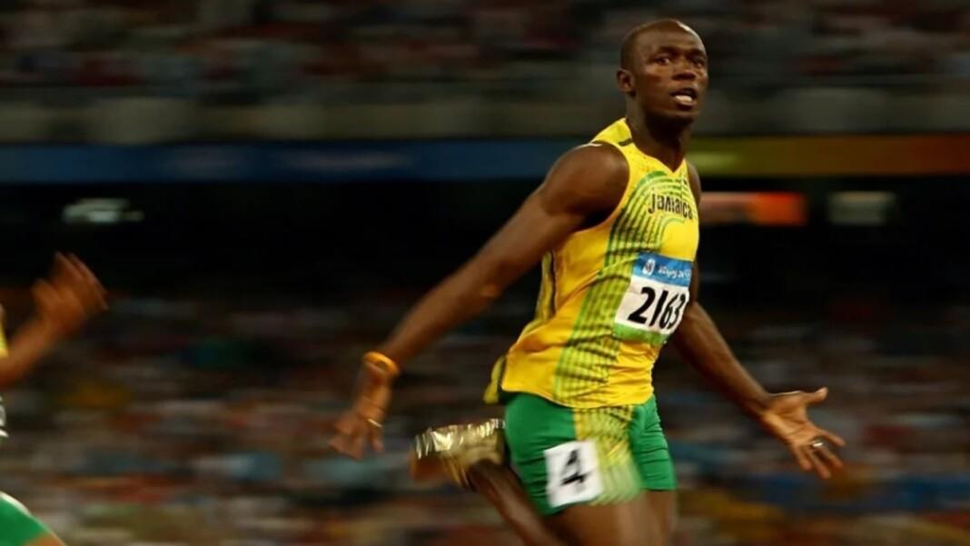 Usain Bolt at the athletics championship
