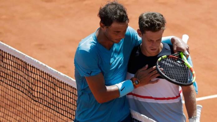 Rafael Nadal and Diego Schwartzman