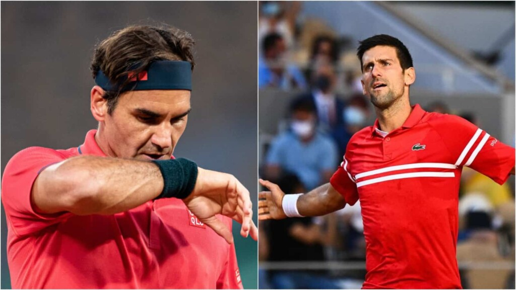 Roger Federer and Novak Djokovic involved in a controversial tweet by PTPA member