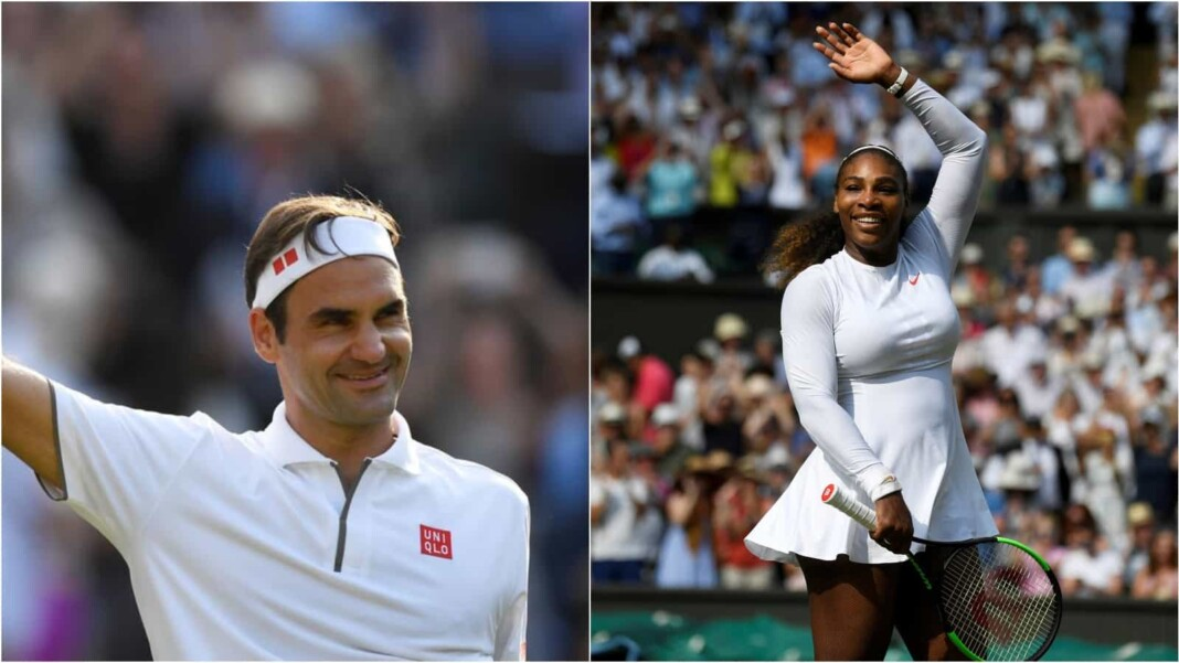 Roger Federer and Serena Williams will both return to the Centre Court at Wimbledon 2021