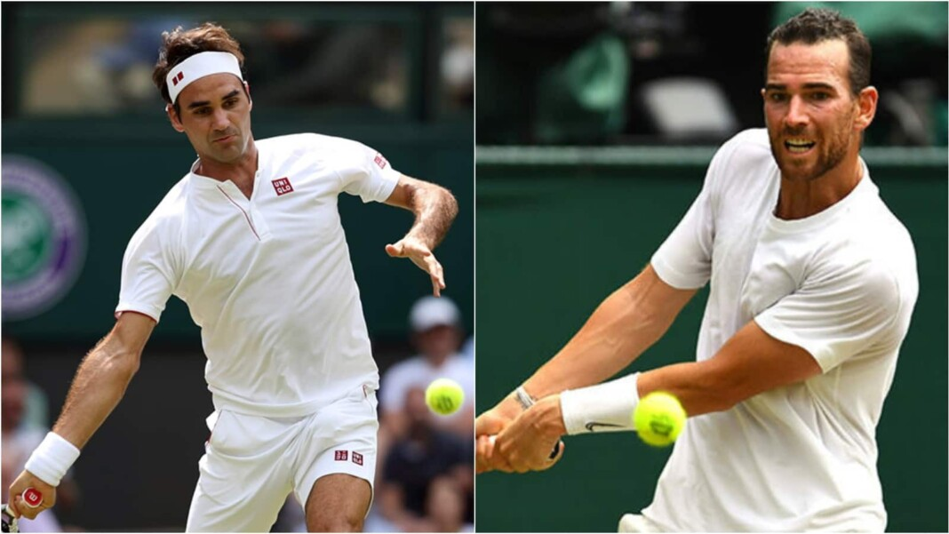 Roger Federer vs Adrian Mannarino will clash in the 1st round of the Wimbledon 2021