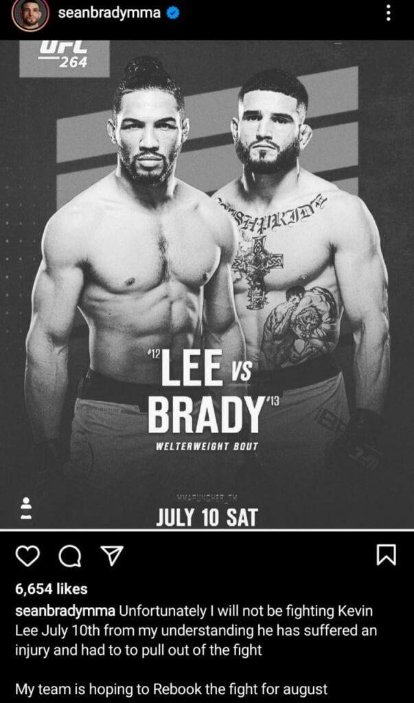 Sean Brady and Kevin Lee