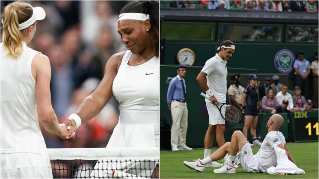 Serena Williams and Adrian Mannarino
