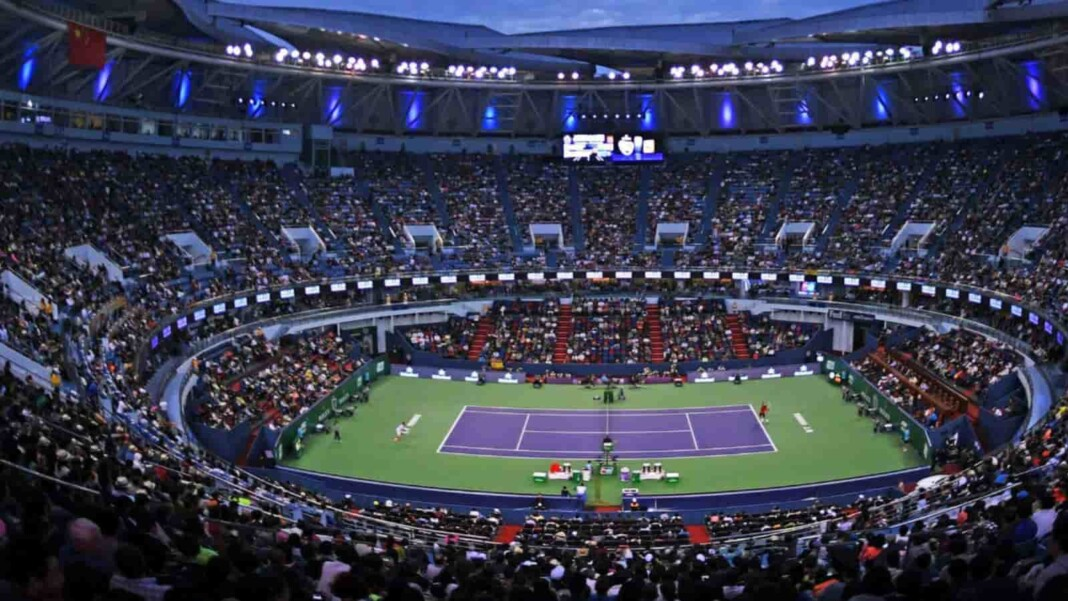 Shanghai Masters, the only tennis Masters tournament in Asia