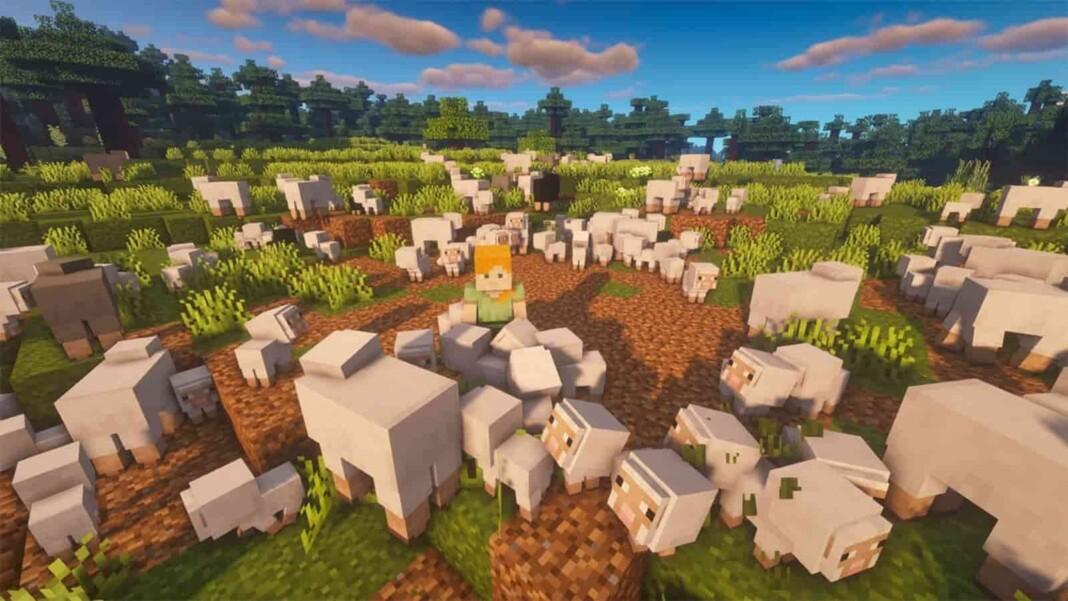 Sheep in Minecraft