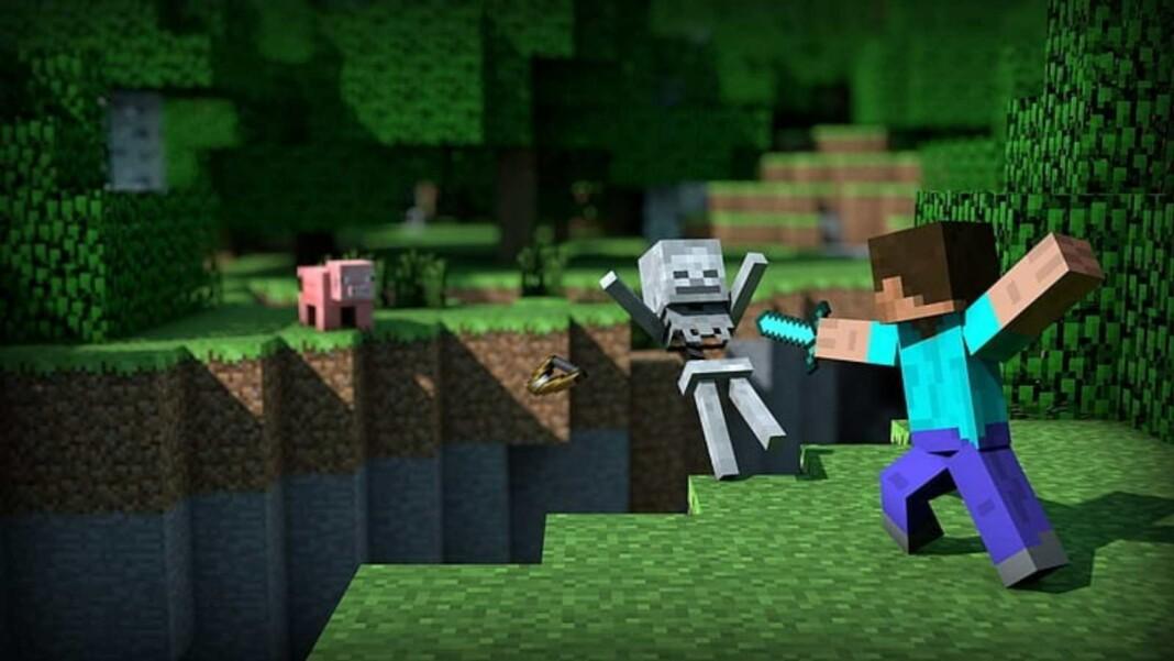 Skeletons in Minecraft