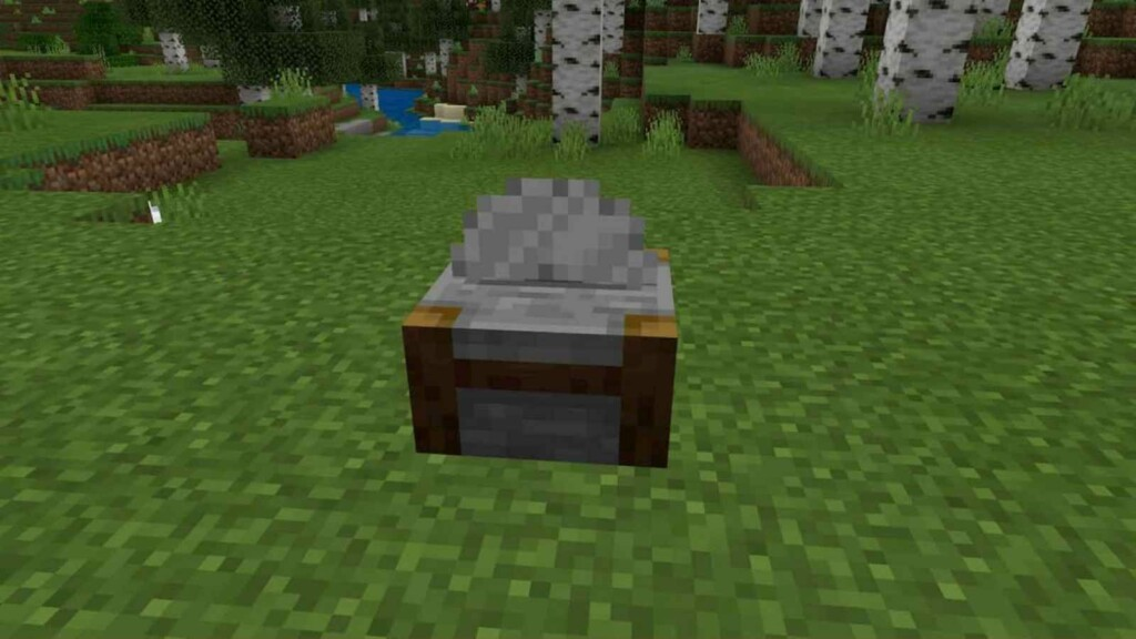 Stonecutter in Minecraft