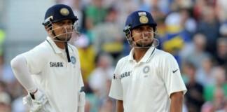 Suresh Raina and Rahul Dravid