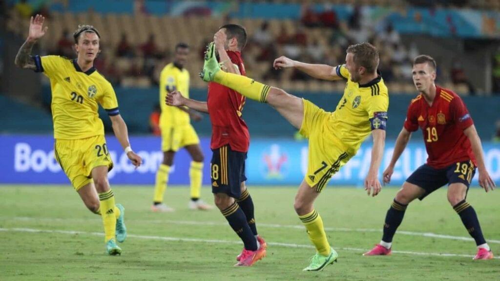 Spain vs Sweden player ratings