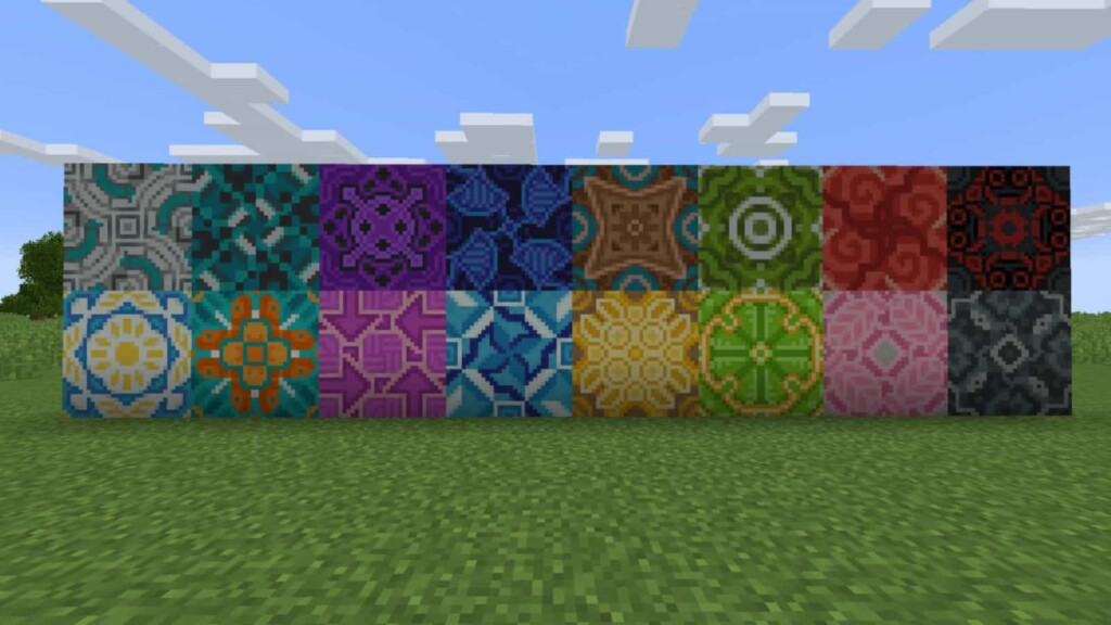Terracotta in Minecraft