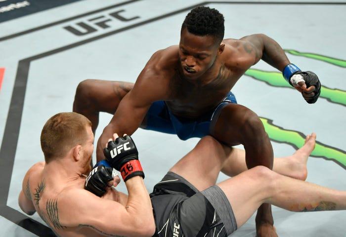 Terrance McKinney vs Matt Frevola UFC 263