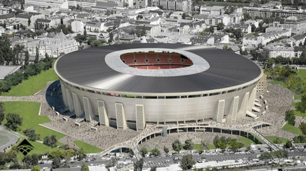 The newly built stadium will host 2 of Hungary's group games in the EURO 2020