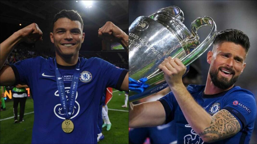 Thiago Silva and Giroud for Chelsea